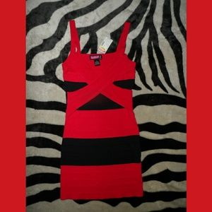 Red & Black Dress Debs Say What? BNWT